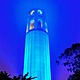 COIT TOWER IN BLUE by Joeann Edmonds-Matthew