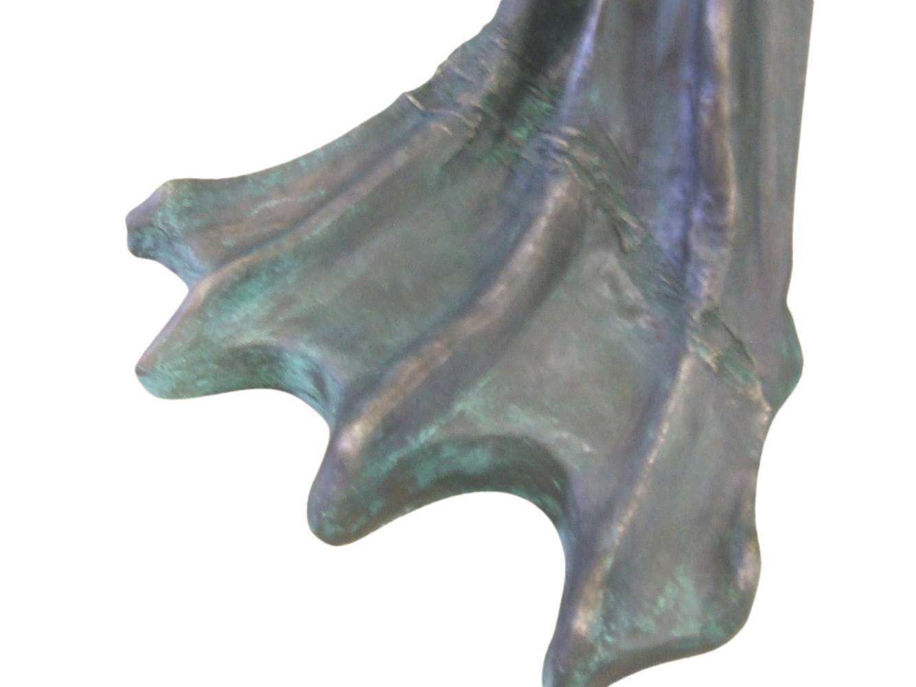 Bronze Statue Foot by Forest Boone by Forest Boone