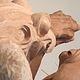 Detail of Large-Scale Clay Frogs by Forest Boone