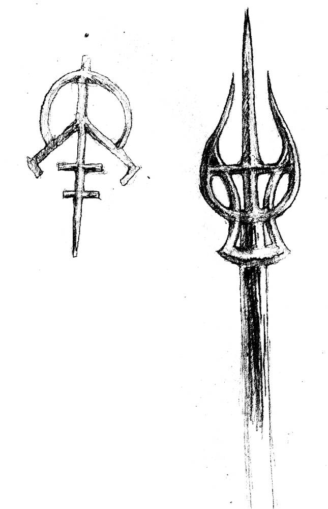 Drawing Spearhead by Hendrik Gericke