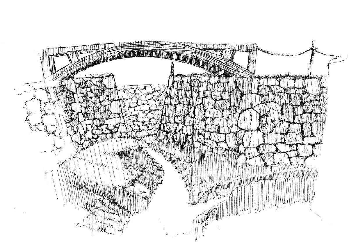 Drawing Trench by Hendrik Gericke