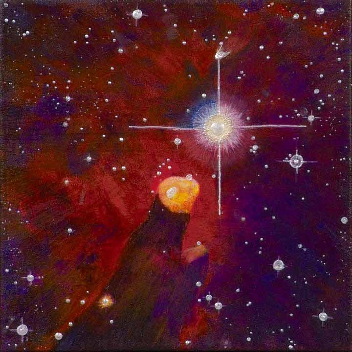 cone nebula by Frederica  Hall