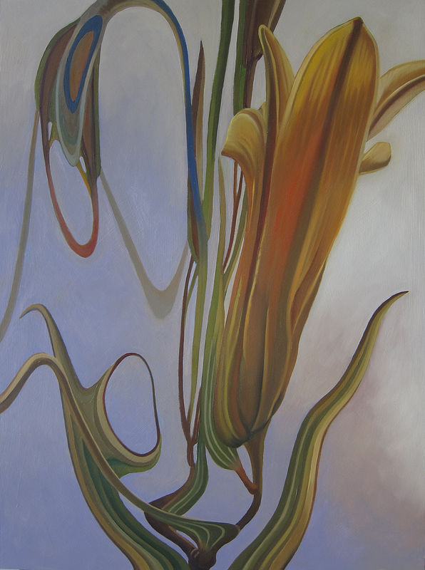 Oil painting Immersion II by Robert Porazinski