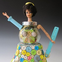 Tea with Barbie by Susan Parrish