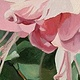 Oil painting Fuchsias  by Susette Gertsch