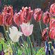 Oil painting Full Bloom by Susette Gertsch