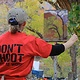 Don't Shoot - artist at work - Zion's Park by Susette Gertsch