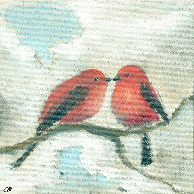 Print Love Birds C019 by Cody Blomberg