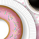 "THE LETTER ""O"" for OH! So Delicious Doughnut by Valerie Lesiak"