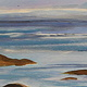 Acrylic painting Mouth of Frobisher Bay, 2002 by Linda Lang