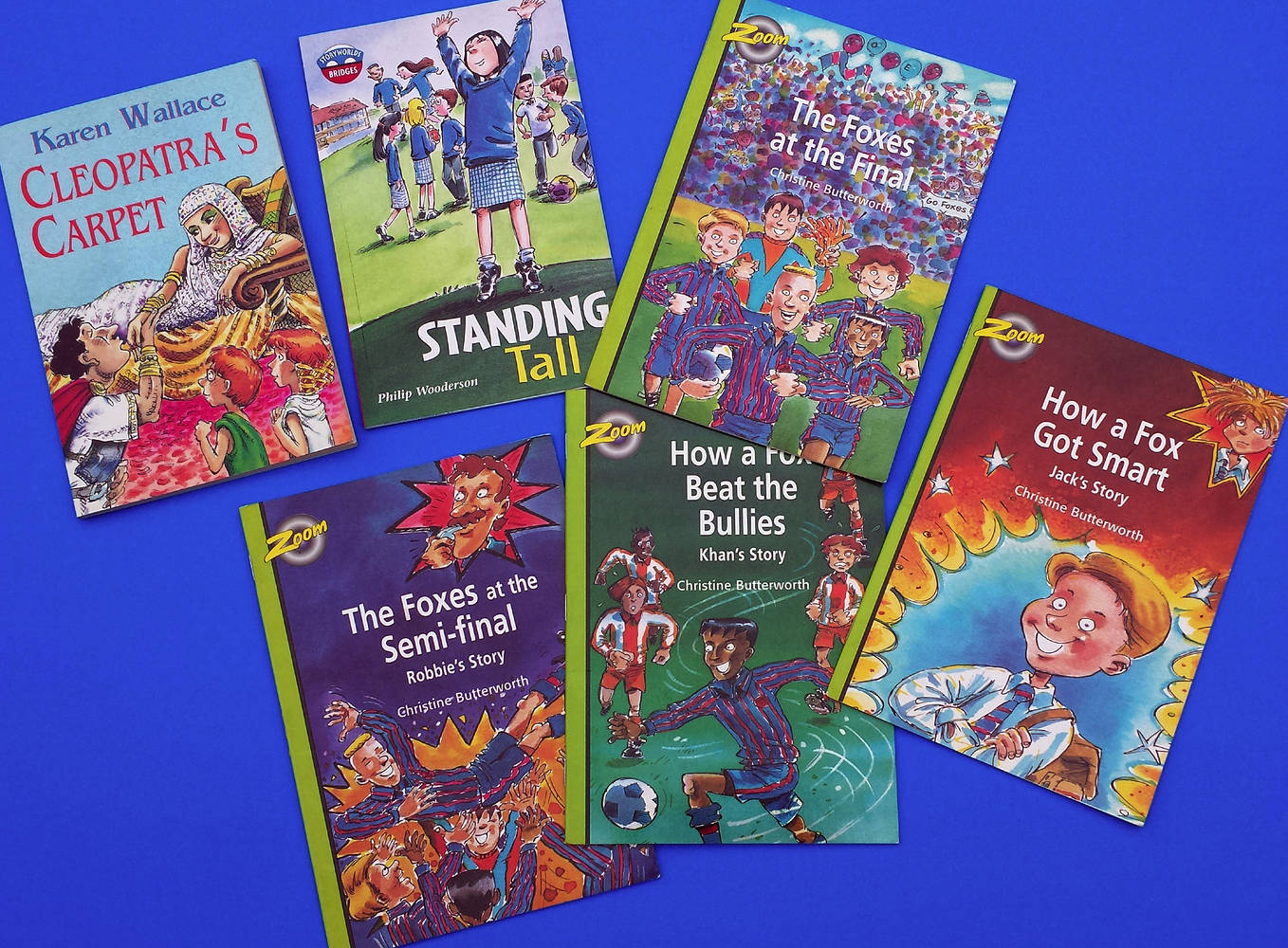 Some of the books I've illustrated. by Allen Wittert