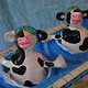 Synchronized Swimming Cows by Valerie Johnson
