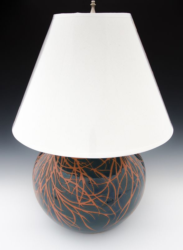 Deep Water Currents Lamp #2 by Danny Young