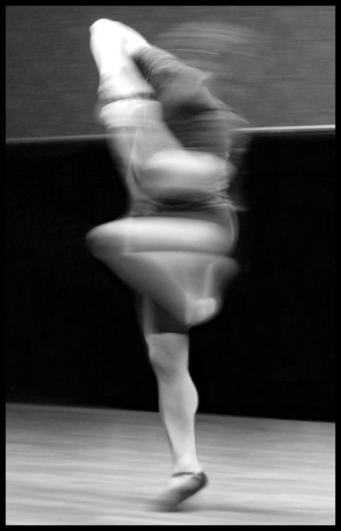 A photographic study of a dancer in motion