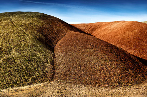 A photo of Painted Hills, Oregon