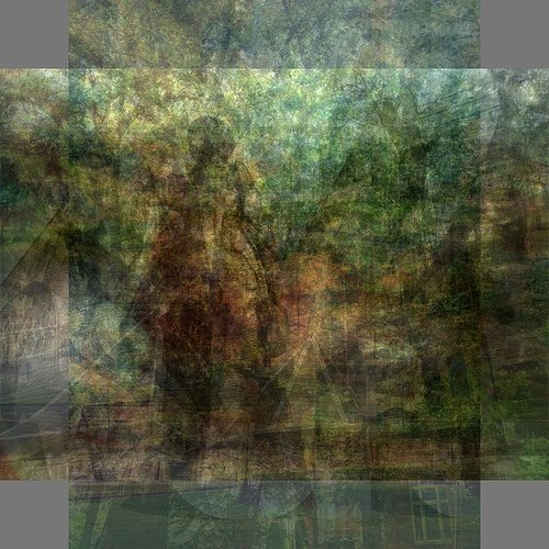 Multiple exposure photographic overlay of Amsterdam