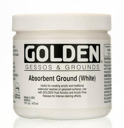 Golden absorbent ground