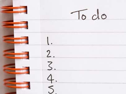 A To-Do List