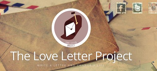 The love letter project logo