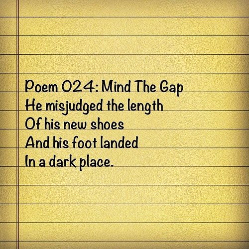 A short poem about a new pair of shoes.