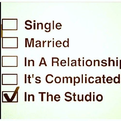 Checked box for in the studio