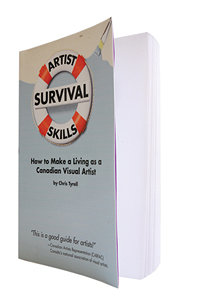 Artist Survival Skills by Chris Tyrell book