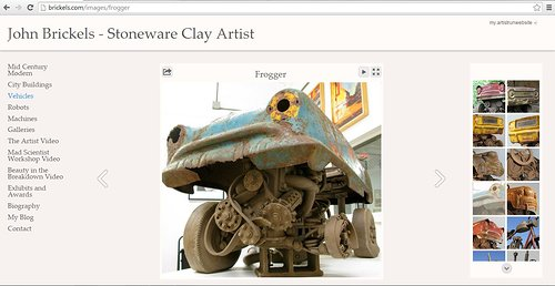 John Brickels' website of his vehicle sculptures