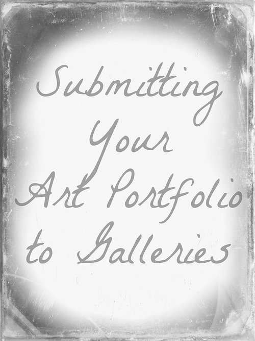 submitting your art to galleries