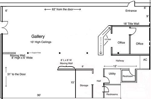 Visualize Your Art Exhibition Using The Art Gallery Floor Plans Artist Run Website