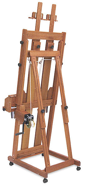 Santa fe easel back view