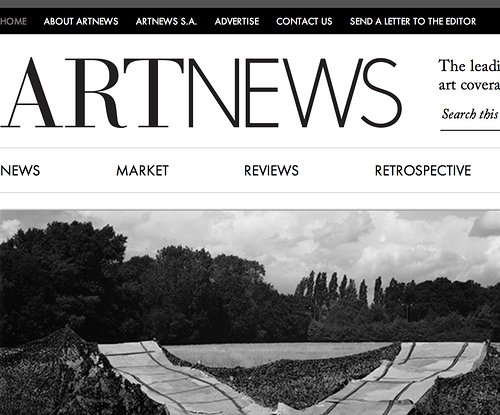 Art News website