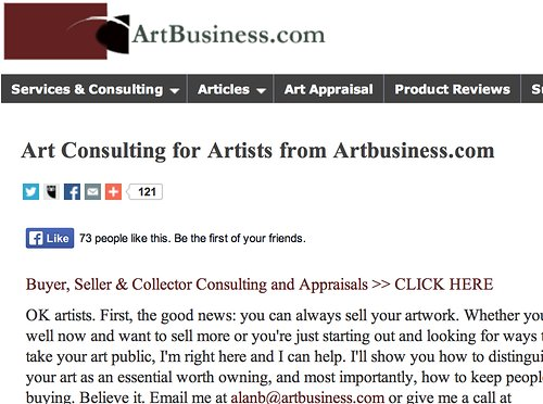 Art Business website