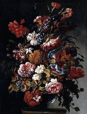 A photo of Paolo Porpora's painting Flowers