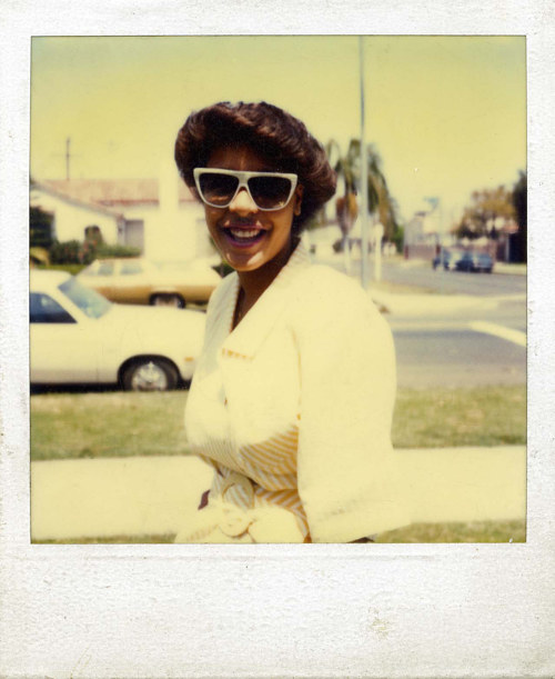 A Polaroid photo, part of Kyler Zeleny's found Polaroids project