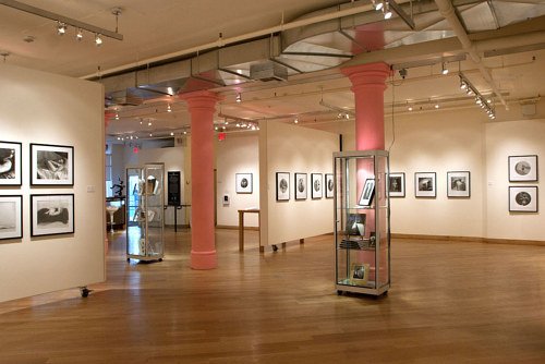 A photo of the interior of the Leslie-Lohman Museum of Gay and Lesbian Art