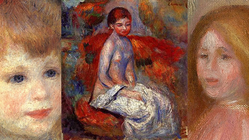 a Renoir painting with details