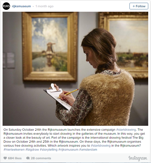 An Instagram photo posted by the Rijksmuseum