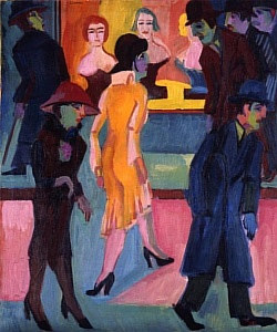A painting by Ernst Ludwig Kirchner