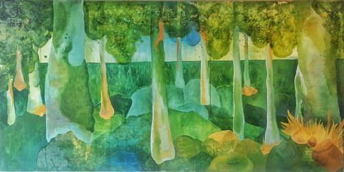 Underwater Plants Abstract Art By Giuliana Grande