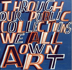 An artwork by Bob and Roberta Smith