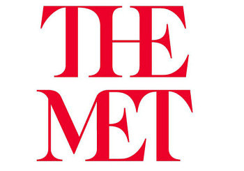 An image of the new logo for the Metropolitan Museum of Art