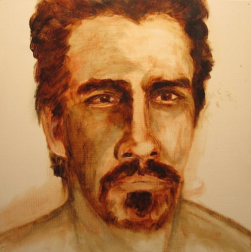 Portait of a man with a goatee