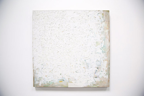 Untitled, a painting by Robert Ryman