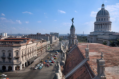 A photo of Havana, Cuba