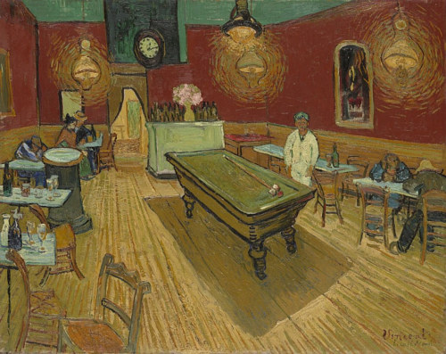 Vincent Van Gogh's The Night Cafe