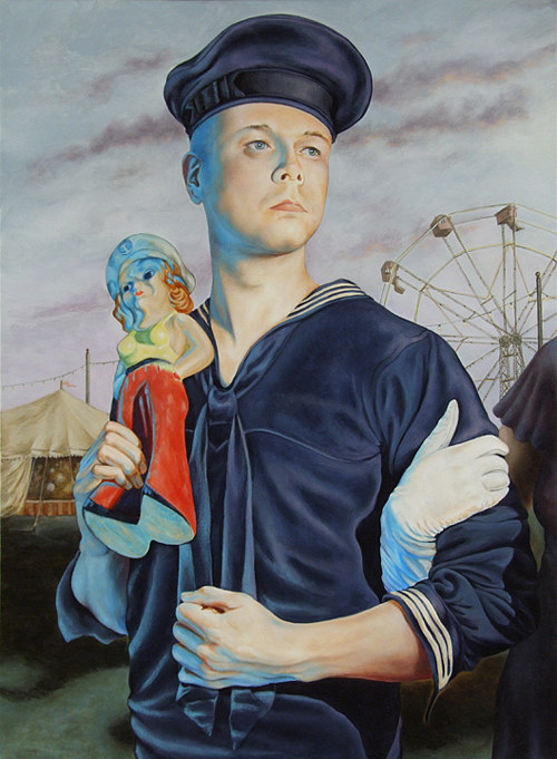 A self-portrait of the artist as a sailor