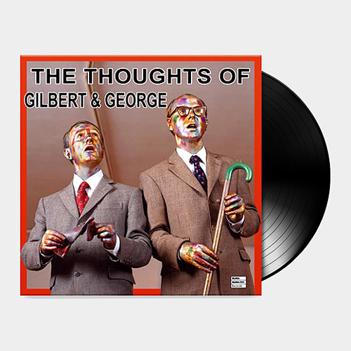 A photo of The Thoughts of Gilbert and George on vinyl