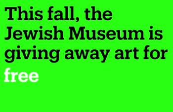 A graphic from the Jewish Museum of NY's Kickstarter