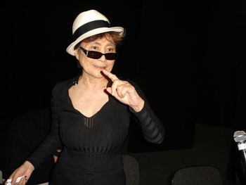 A photo of Yoko Ono
