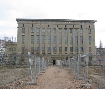An exterior photograph of Berlin nightclub Berghain